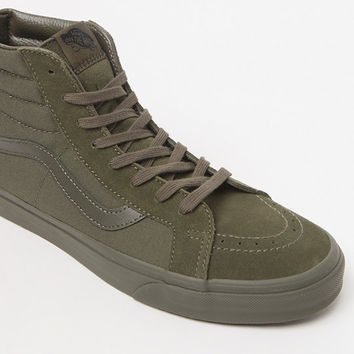 56fec2127c Vans Mono Sk8-Hi Reissue Zip Ivy Shoes at from PacSun