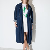 Sandra Denim Trench