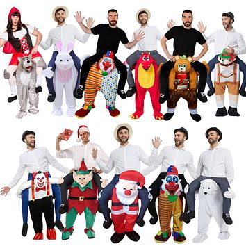 New Ride on Shoulder Costumes Adults