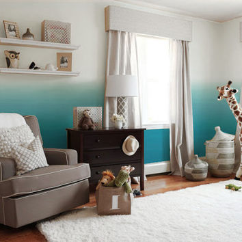 Ombre Removable Peel 'n Stick Wallpaper