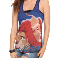 Disney The Lion King Simba And Mufasa Girls Tank Top