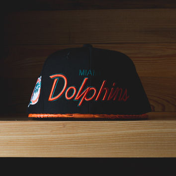 Just Don Miami Dolphins- 'Black/Orange'
