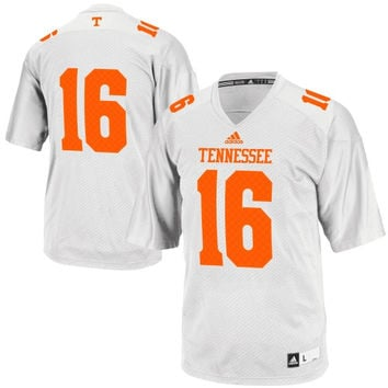 Tennessee Volunteers adidas No. 16 Premier Football Jersey – White