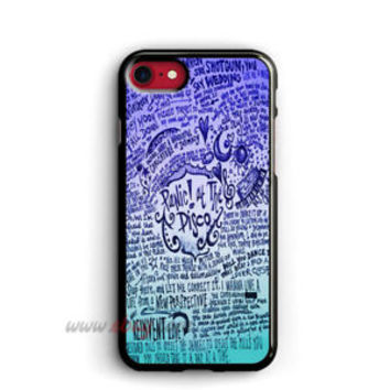 Panic At The Disco iphone 8 Plus Cases Design Samsung Cases Liryc iphone X Cases