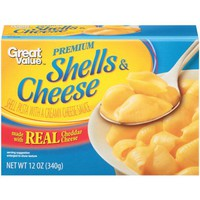 Great Value Premium Shells & Cheese, 12 oz - Walmart.com