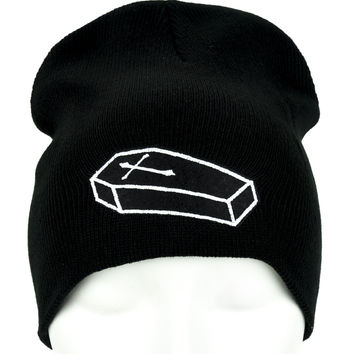 Future Corpse Coffin Beanie Occult Clothing Knit Cap