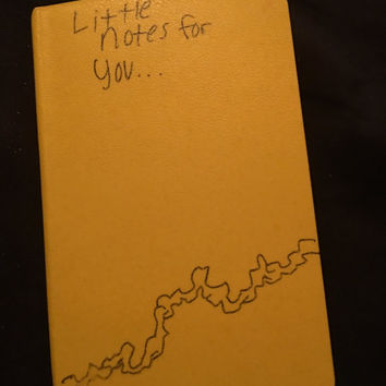 little notes for you - poetry zine/booklet