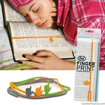 Fingerprints Bookmarks By Fred And Friends