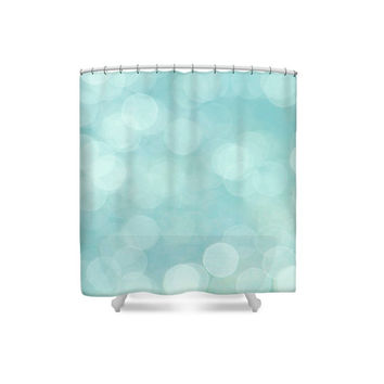 Bathroom Decor, Modern Decor, Aqua Shower Curtain,Turquoise Bathroom,Blue Bathroom Decor,Blue Shower Curtain,Turquoise Bathroom,Pastel Decor