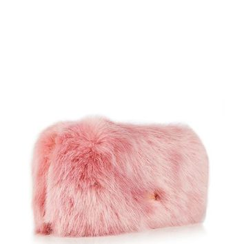 **Candy Faux Fur Clutch Bag by Skinnydip
