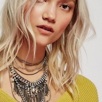 Free People Illusion Shadows Collar