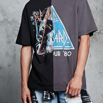 Def Leppard Split-Graphic Tee