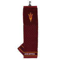 Arizona State Sun Devils NCAA Embroidered Tri-Fold Towel