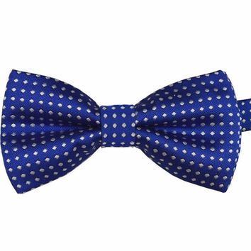 Toddler Baby Boy Formal Party Infant Pre Tied Tuxedo Bow Gentle Tie NecktieY01