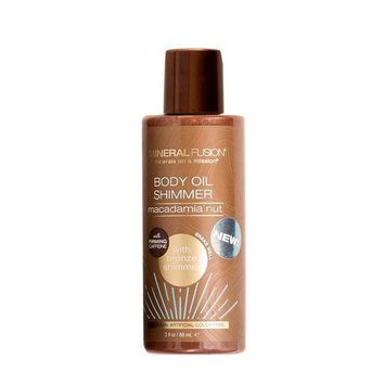 Mineral Fusion Body Oil, Shimmer Bronze - 3 Fz