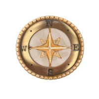 Origami Owl New Golden Jewelry Floating Memory Living Locket Charms Compass A01