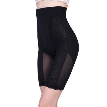 ONETOW Body Sexy Shaper Waist Permeable High Rise Pants Hip Up Slim Corset [4918368772]
