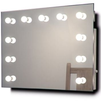 Hollywood Makeup Dressing Room Mirror with Warm White Dimmable LED lamps k95WW