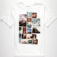 Hurley Day Dreaming Mens T-Shirt White  In Sizes