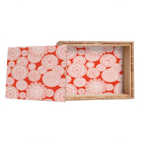 Heather Dutton Delightful Doilies Saffron Jewelry Box