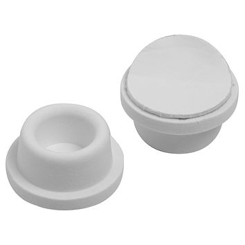 Stanley Hardware S577-099 CD7097 Self-Adhesive Wall Doorstop White 2 Pack -- New