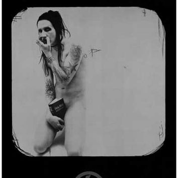 Marilyn Manson Bible Banger Music Poster 11x17