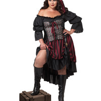Pirate Wench Adult Womens Plus Size Costume – Spirit Halloween
