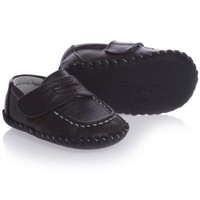 Baby Boys Brown Leather Loafer Shoes (Charlie 0-2yr)