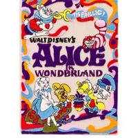 Embroidered Alice in Wonderland Book Box Clutch - OLYMPIA LE-TAN