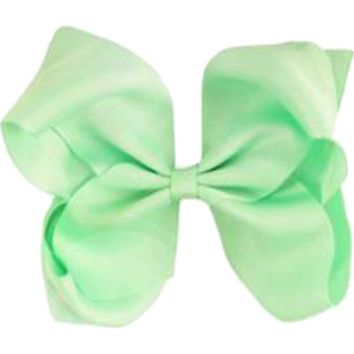 Grosgrain Boutique Hairbow, Mint