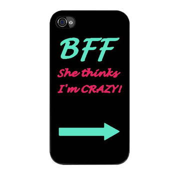 best friend bff couple left iPhone 4 4s 5 5s 5c 6 6s plus cases