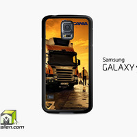 Afternoon Scania Logo Blue Samsung Galaxy S5 Case Cover by Avallen