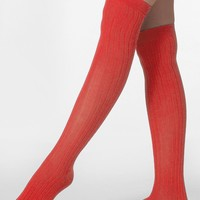 rsasklrm - Ribbed Modal Over-the-Knee Sock