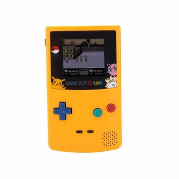 Original For Game Boy Color For GBC Game Console Handheld Gamepad Game Controller Battery Operated For Kids Children Gift
