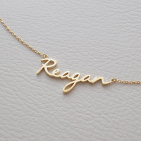 20% OFF Custom Name Necklace - Personalized Name Jewelry - Custom Name Gifts - Your Name Necklace - PN02F62