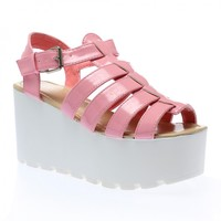 Kiki Chunky Platforms in Pink