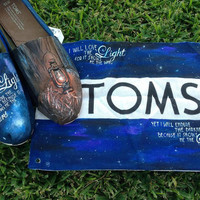 Toms Shoes- Galaxy Starry Night- VIntage Lantern- I will love the light...- It's all about perspective