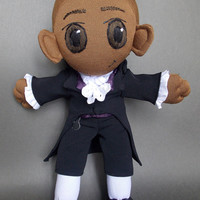 Aaron Burr from Hamilton Musical Plush Doll Plushie Toy