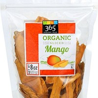 365 Everyday Value Dried Mangoes, Organic, 8 oz