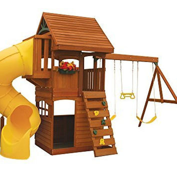 Cedar Summit Grandview Deluxe Play Set