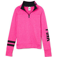 Ultimate Yoga Half-Zip - PINK - Victoria's Secret