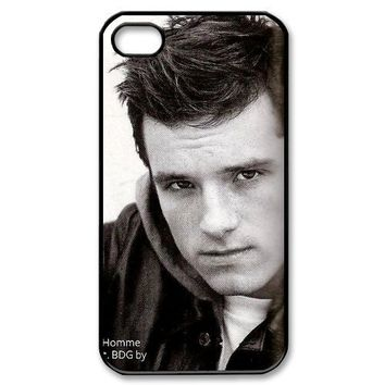 Famous Star Josh Hutcherson Custom TPU Protective Case Skin For Iphone 4 4s iphone4s-82121