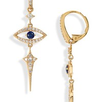 Nadri Nazar Evil Eye Earrings | Nordstrom