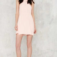 Tara Halter Mini Dress - Pink