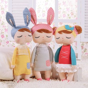 Hot Metoo Plush Stuffed Animal Cartoon Kids Toys for Girls Children Baby Birthday Gift Angela Rabbit Girl Doll Cute Stuffed Toys