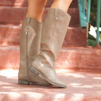 Season Change Riding Boots Taupe