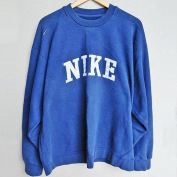 PEAPIH3 NIKE Fashion Casual Long Sleeve Sport Top Sweater Pullover Sweatshirt F
