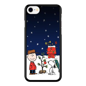 Charlie Brown Christmas Peanuts 001 iPhone 8 Case