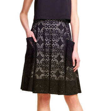 Medallion Lace Pop Over Dress - Adrianna Papell