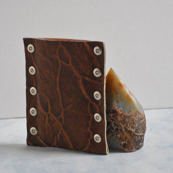 iPhone Leather Case - Brown Leather iPhone Case - iPhone 5 Case - Leather iPhone Sleeve